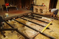 Laying out the joists